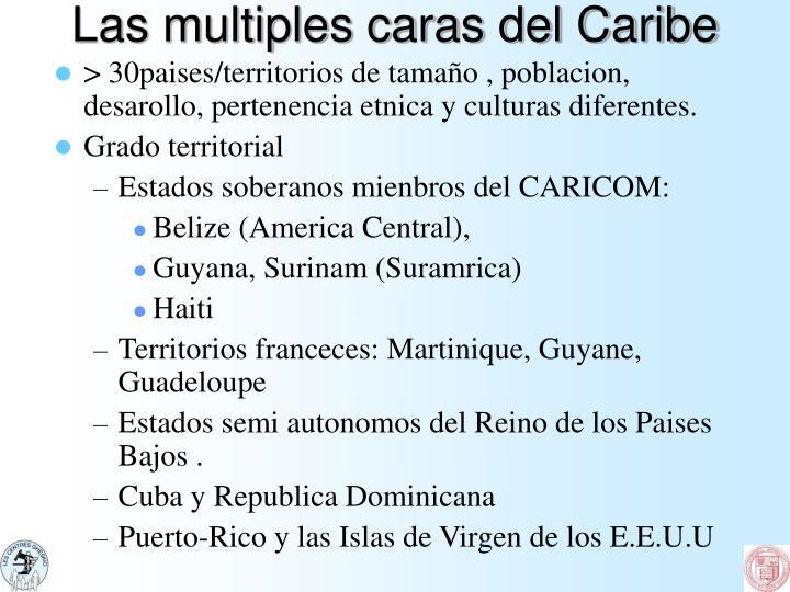 Las multiples caras del Caribe