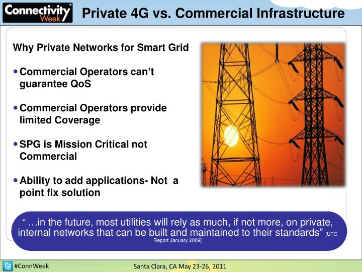 Private 4G vs. Commercial Infrastructure