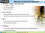 why do we need 4g network