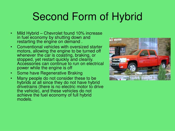Second Form of Hybrid