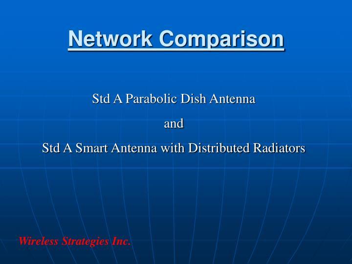 Network Comparison