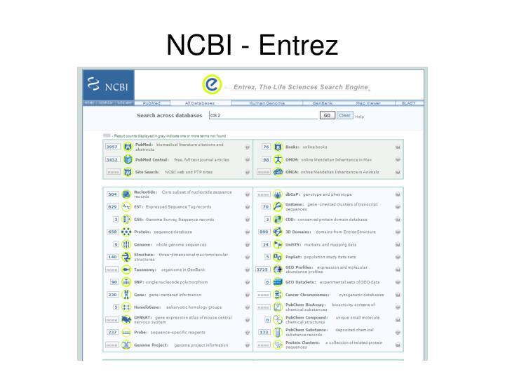 NCBI - Entrez