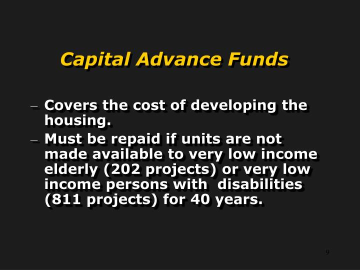 Capital Advance Funds