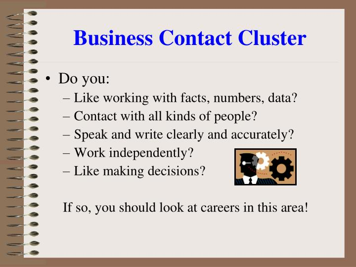 Business Contact Cluster