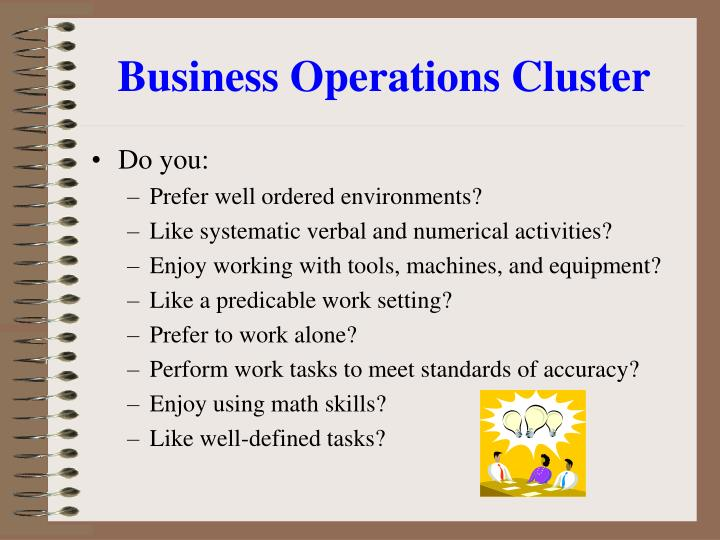 Business Operations Cluster