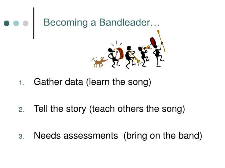 Gather data (learn the song)