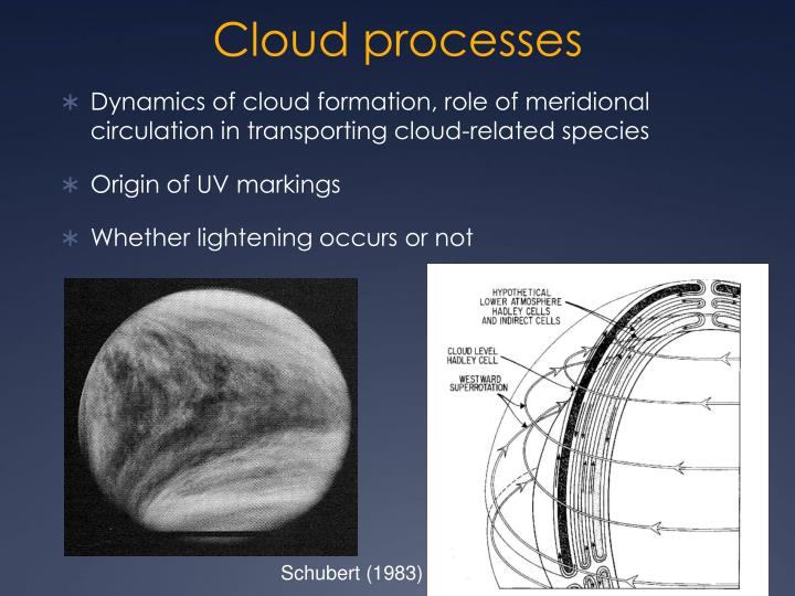 Cloud processes