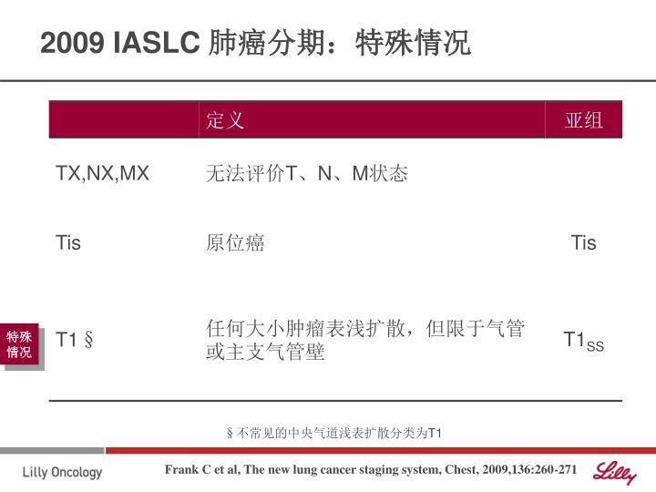 2009 IASLC