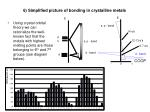 6 simplified picture of bonding in crystalline metals