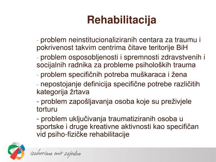 Rehabilitacija
