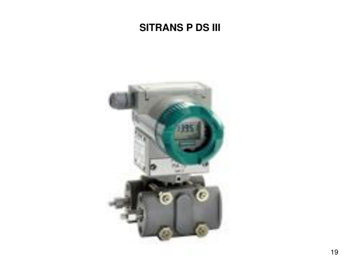 SITRANS P DS III
