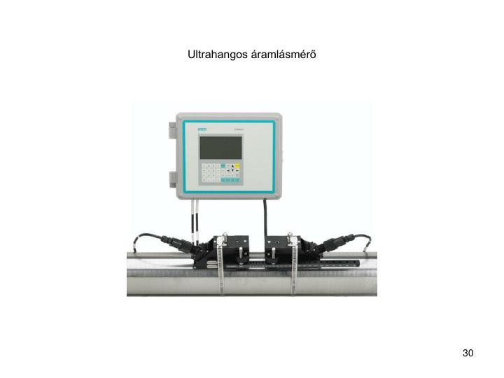 Ultrahangos áramlásmérő