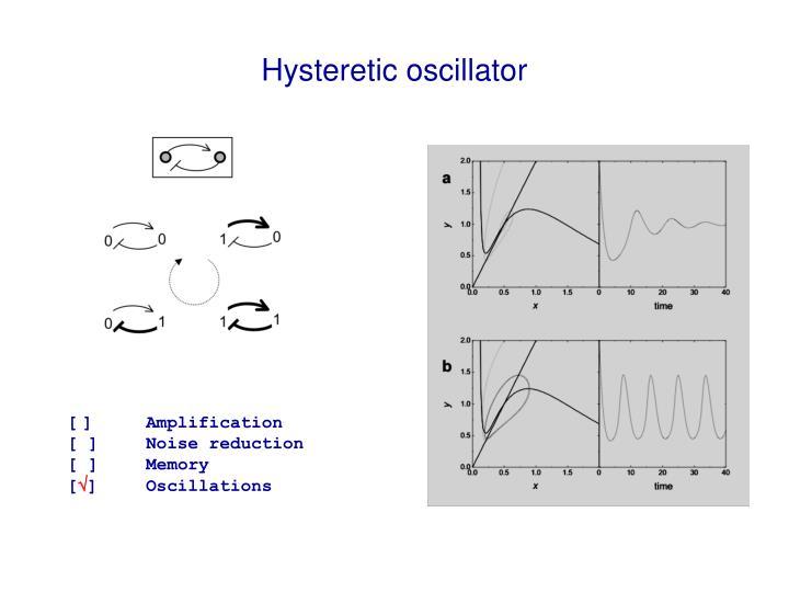 Hysteretic oscillator