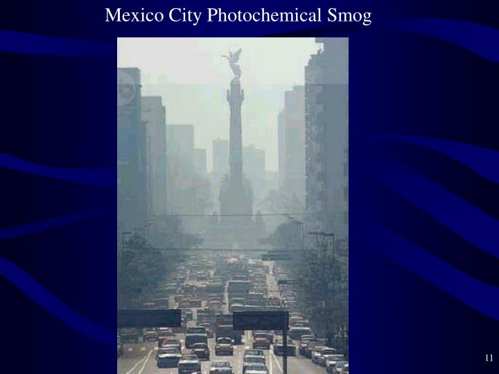 Mexico City Photochemical Smog