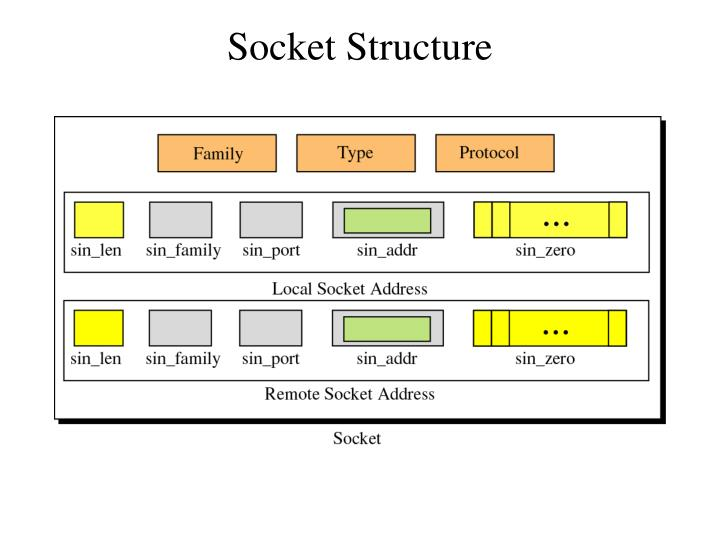 Socket Structure