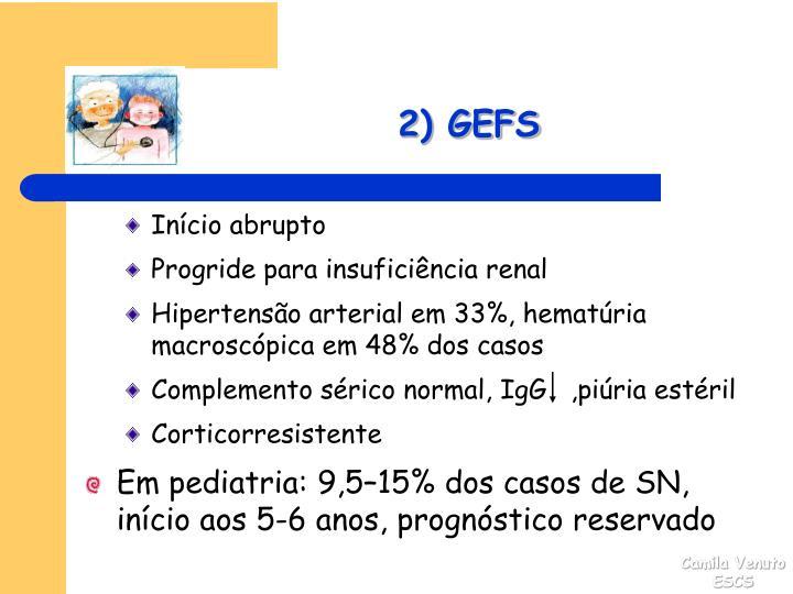 2) GEFS