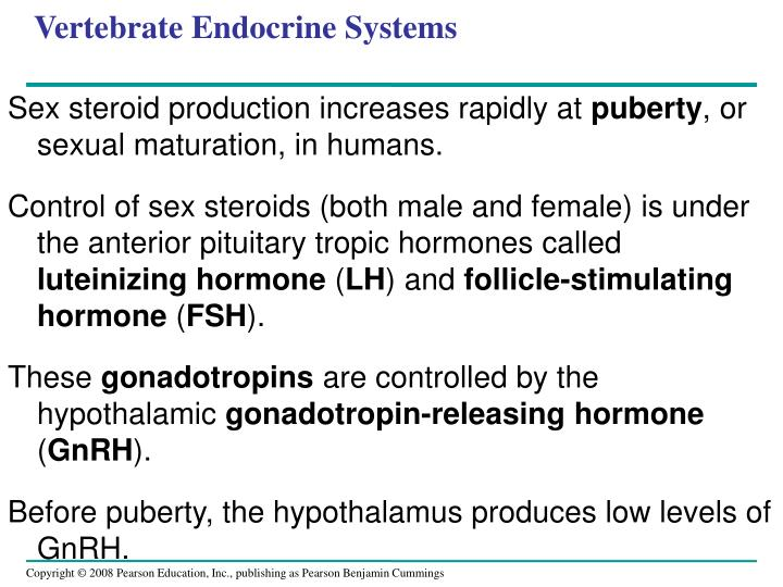 Vertebrate Endocrine Systems