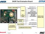 shur test evaluation board