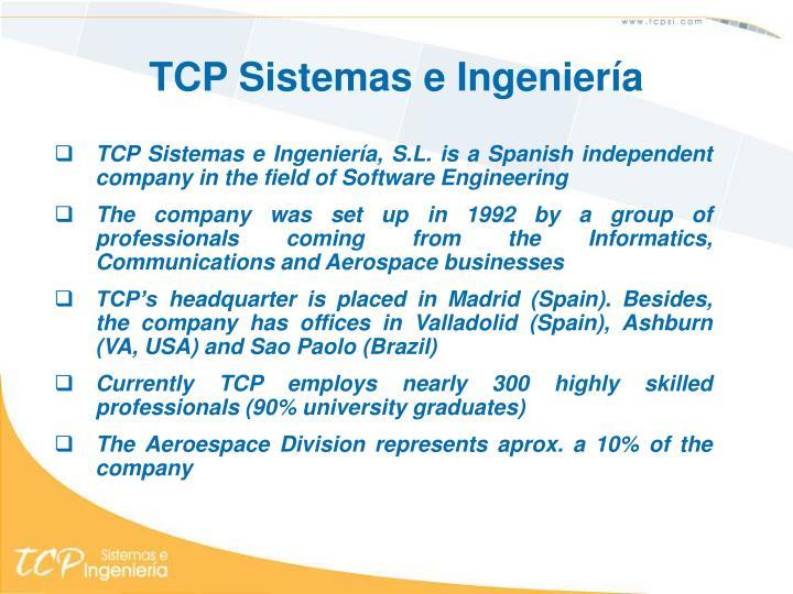 TCP Sistemas e Ingeniería