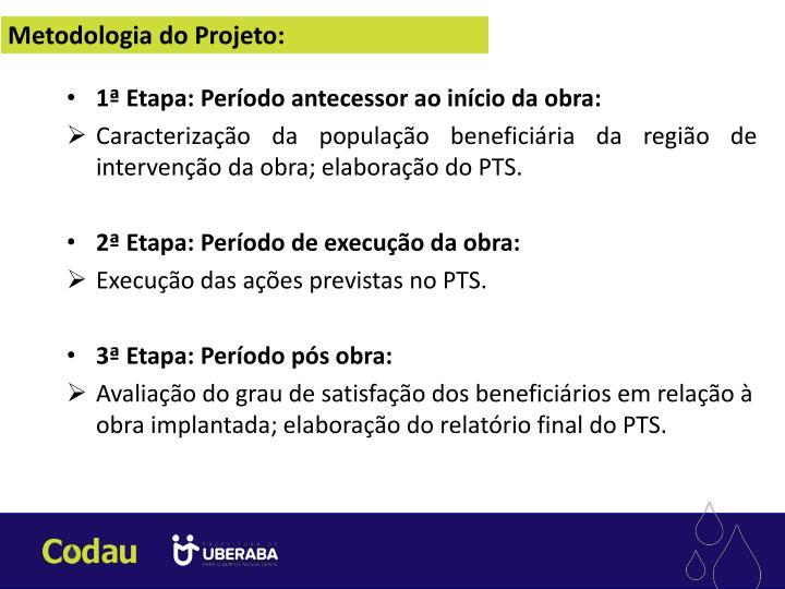Metodologia do Projeto: