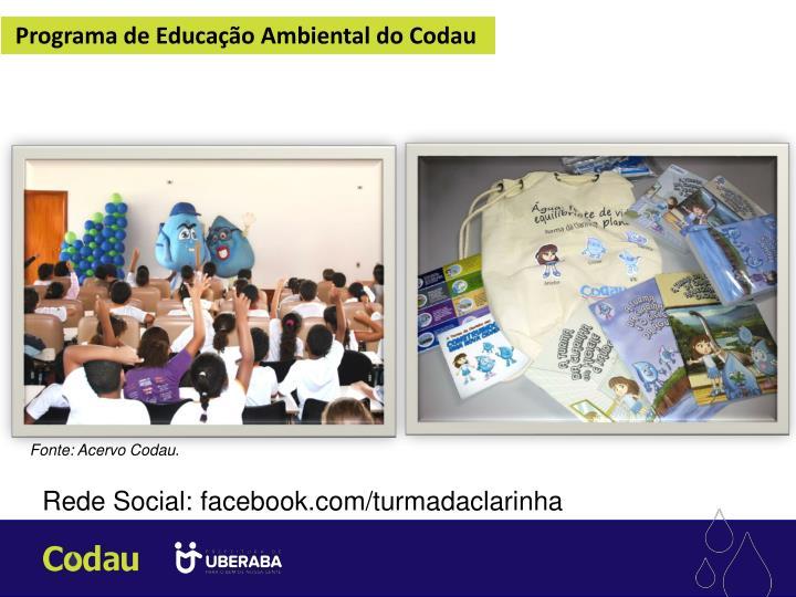 Programa de Educação Ambiental do Codau