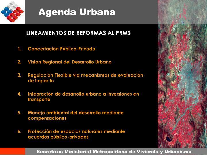 LINEAMIENTOS DE REFORMAS AL PRMS
