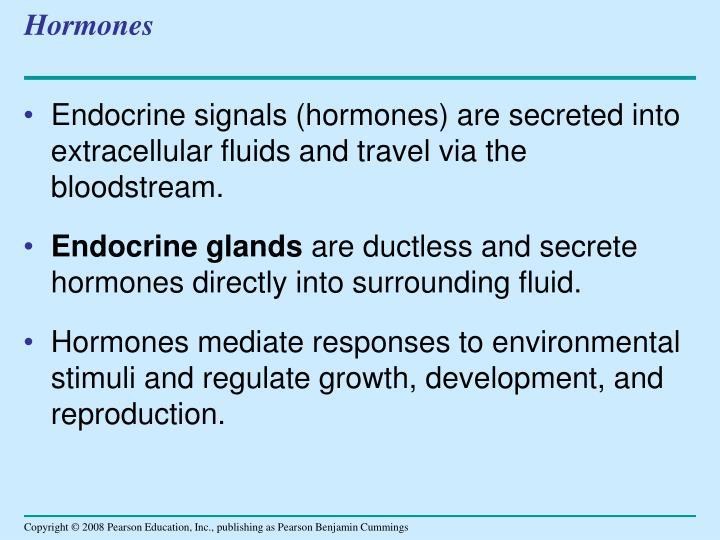 Hormones