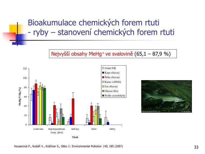 Bioakumulace chemických forem rtuti