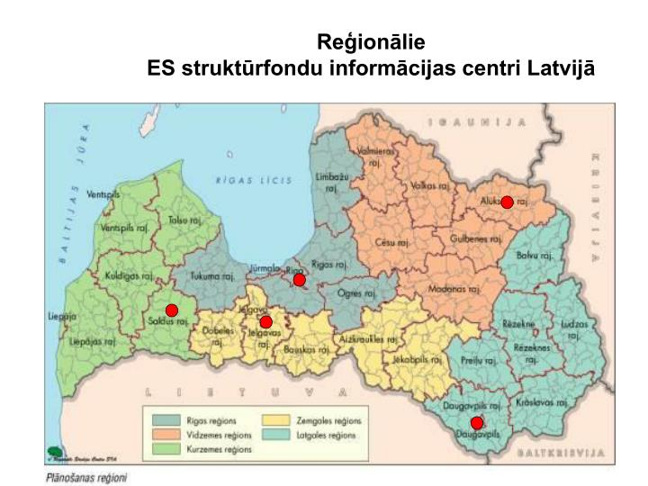 Reģionālie