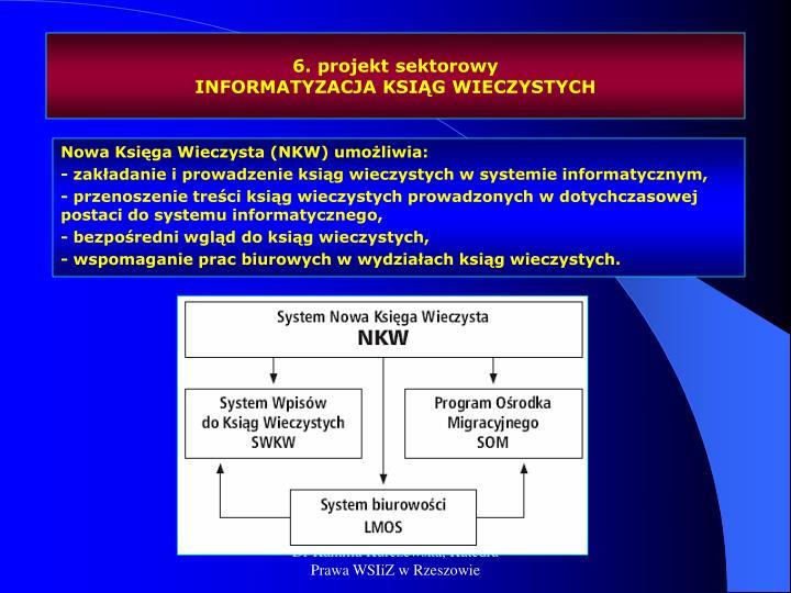 6. projekt sektorowy