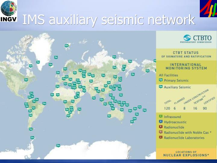 IMS auxiliary seismic network
