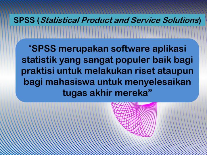 SPSS (