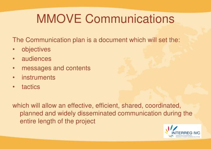 MMOVE Communications