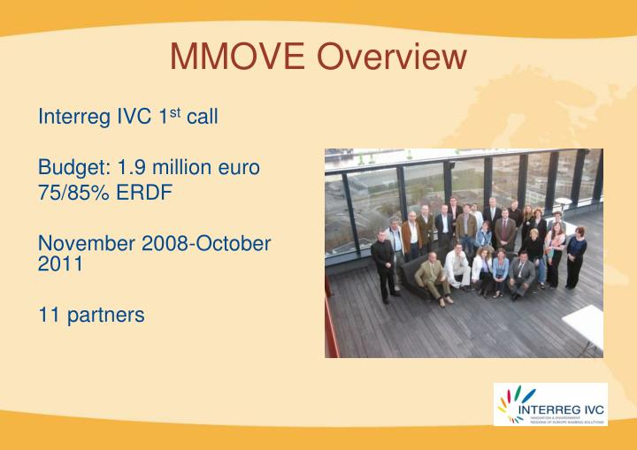 MMOVE Overview