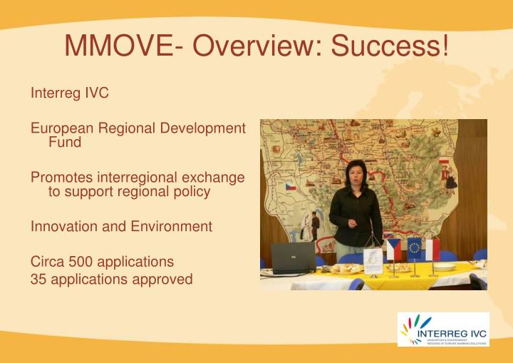 MMOVE- Overview: Success!
