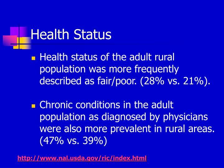 Health Status