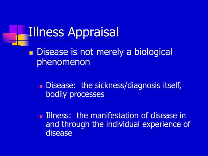 Illness Appraisal