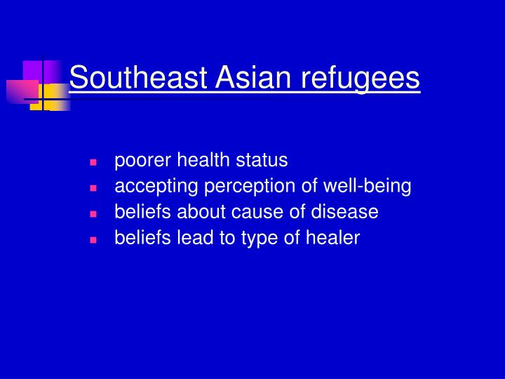 Southeast Asian refugees