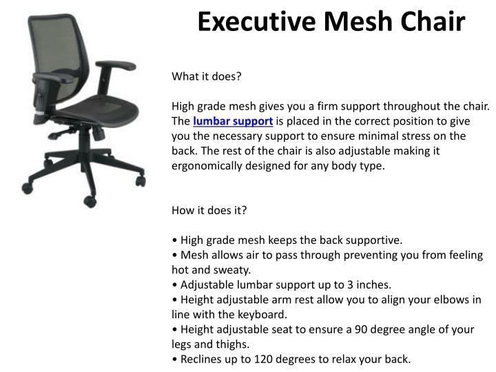 Executive Mesh