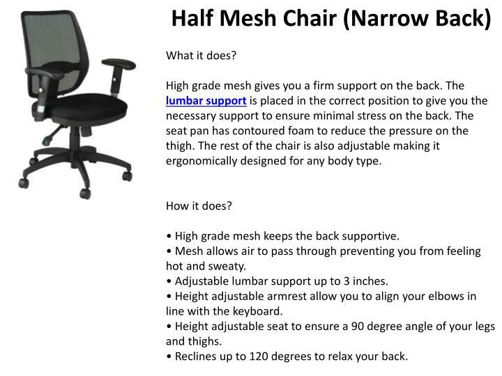 Half Mesh Chair