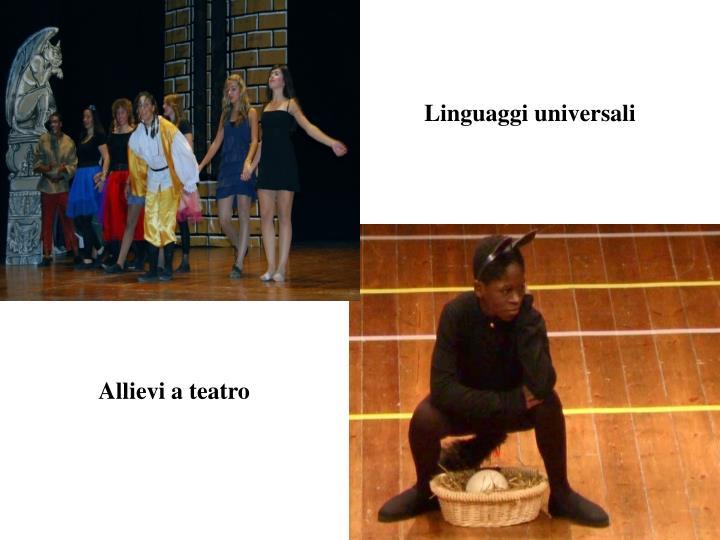 Linguaggi universali