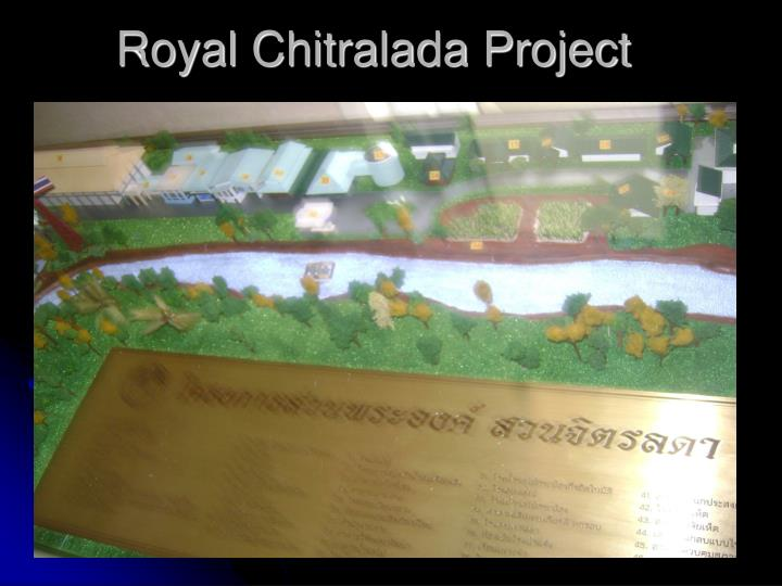 Royal Chitralada Project