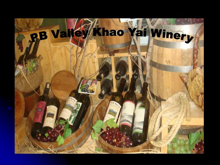 PB Valley Khao Yai Winery