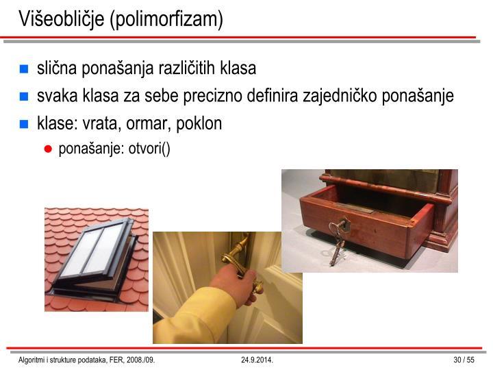 Višeobličje (polimorfizam)