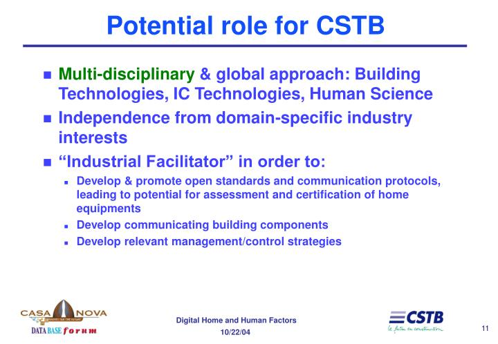Potential role for CSTB
