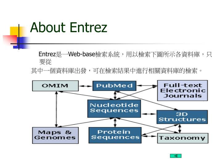 About Entrez