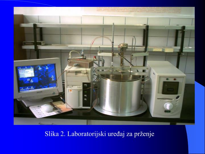 Slika 2. Laboratorijski uređaj za prženje