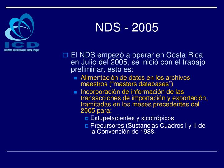 NDS - 2005