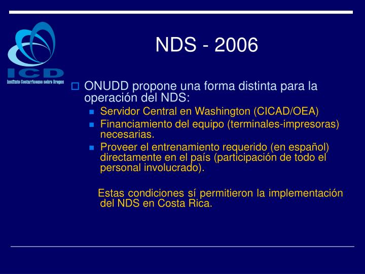NDS - 2006