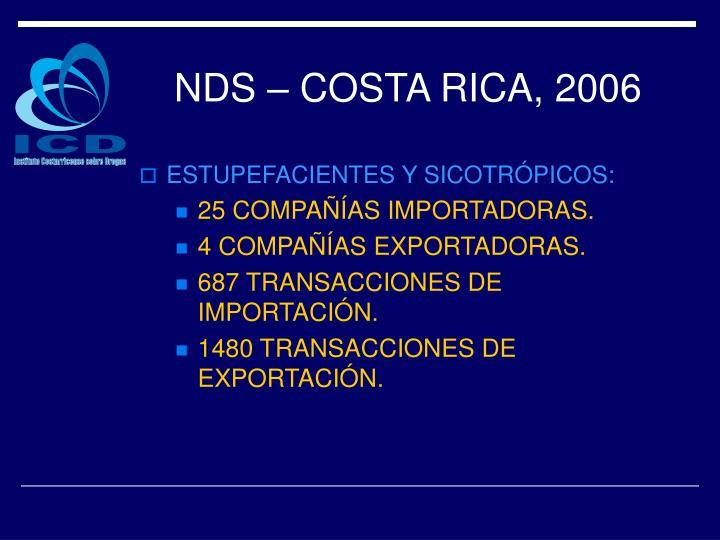NDS – COSTA RICA, 2006
